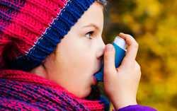 علائم و نشانه هاي آسم در کودکان