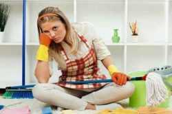 فشار رواني کارهاي خانه بر خانم ها