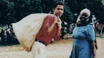 باراک اوباما در زماني که جوان بود