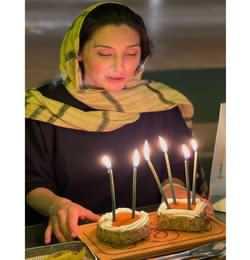 جشن تولد هديه تهراني در 49 سالگي