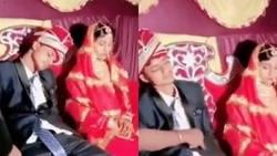 داماد خسته در شب عروسي کنار عروس خوابيد + فيلم