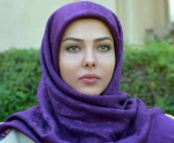 حجاب جالب يکي از بازيگران زن