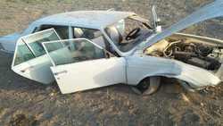 پيکان سواري در گتوند واژگون شد و 5 نفر مصدوم شدند