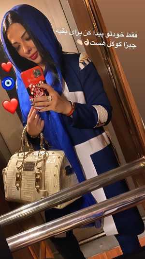 ليلا اوتادي با کيف گران قيمتش-عکس ليلا اوتادي بازيگر سينما